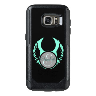 Winged Monogram OtterBox Samsung Galaxy S7 Case