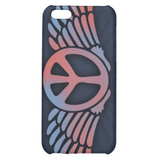Winged Peace Case For iPhone 5C