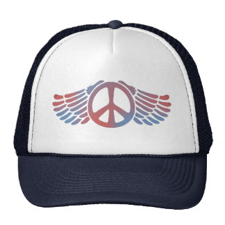 Winged Peace Hats