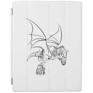 Winged Raptor / Tribal iPad Cover