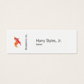 Winged Red Dragon Mini Business Card