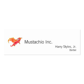 Winged Red Dragon Pack Of Skinny Business Cards