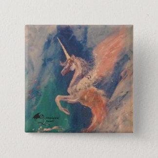 Winged Sea Unicorn Pin Campchurch