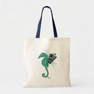 Winged Seahorse Budget Tote Bag