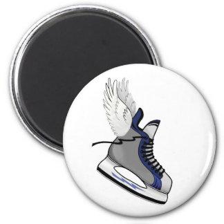 winged skate refrigerator magnets