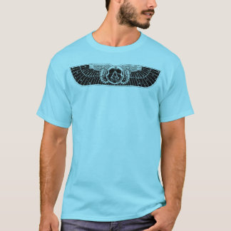 Winged Skull Disc T-Shirt