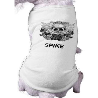 Winged Skull Dog Shirt