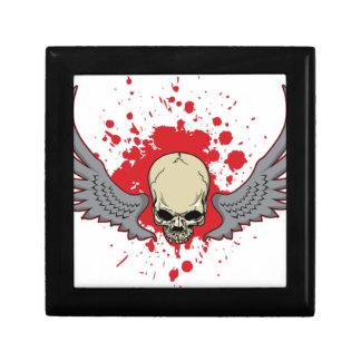 Winged-Skull Gift Box