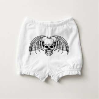 Winged Skull Grim Reaper Nappy Cover