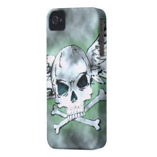 Winged Skull iPhone Case