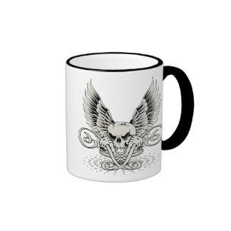 Winged Skull Mug