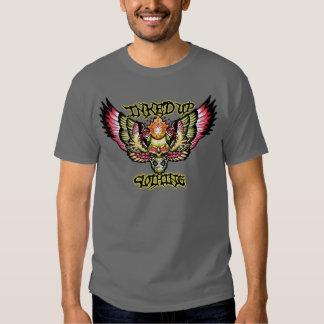 Winged skull tshirt