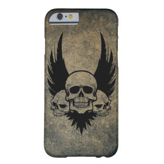 Winged Skulls Barely There Phone Case