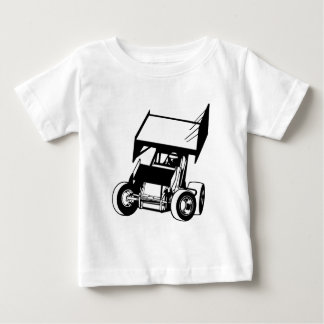 Winged sprint car baby T-Shirt