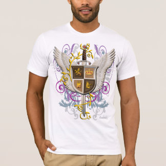 Winged Sword and Shield T-Shirt