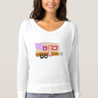 Winged Travel Trailer T-Shirt