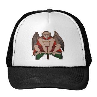 Winged Vampire Demon Mesh Hat