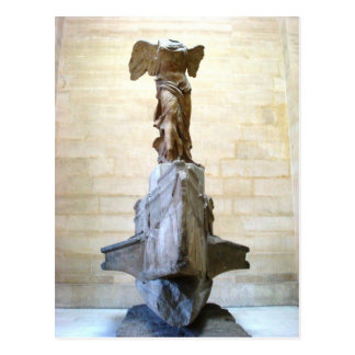 Winged Victory of Samothrace Nike Postcard