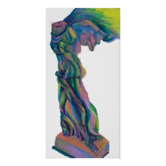 Winged victory poster
