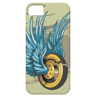 Winged Wheel iPhone 5 Covers