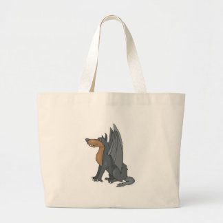 winged wolf canvas bags