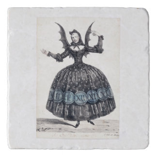 Winged Woman Trivet