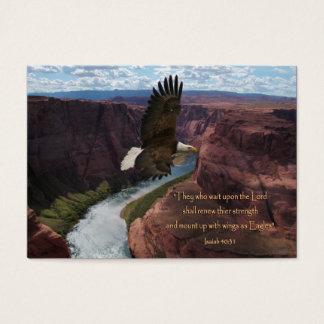 Wings as Eagles Scripture Wallet Cards