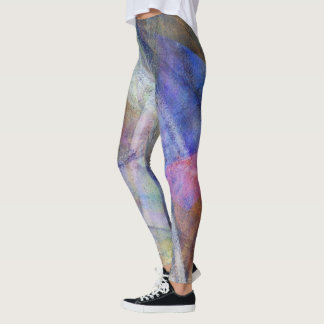 """""""Wings"""" Colourful Abstract Art Leggings"""