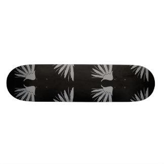 Wings Grey Black Skateboards