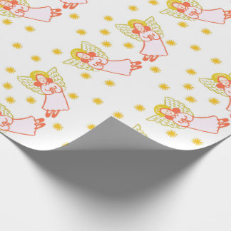 Wings of Angels Wrapping Paper