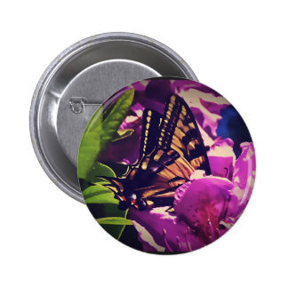 Wings of Beauty 6 Cm Round Badge