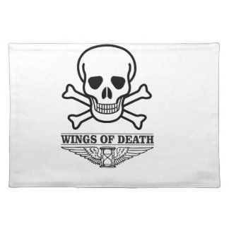 wings of death placemat