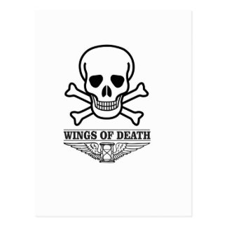 wings of death postcard