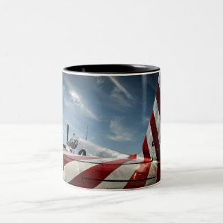 Wings of Freedom Two-Tone Coffee Mug