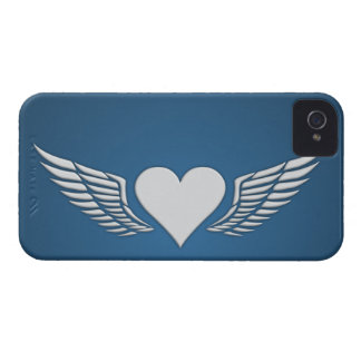 Wings of Love Blackberry Bold case, customize Case-Mate iPhone 4 Case