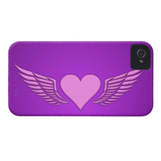 Wings of Love Blackberry Bold case, customize iPhone 4 Case-Mate Case