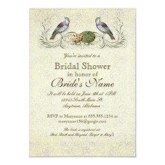 Wings of Love Invitation - Bridal Shower