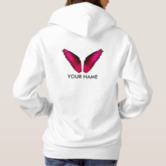Wings of Rosa Butterfly Hoodie