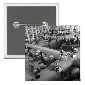 Wings of War: Early 1940s Pinback Button