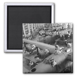 Wings of War: Early 1940s Square Magnet