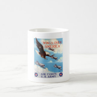 Wings Over America -- Air Corps Basic White Mug