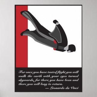 Wingsuit SkyDive Poster