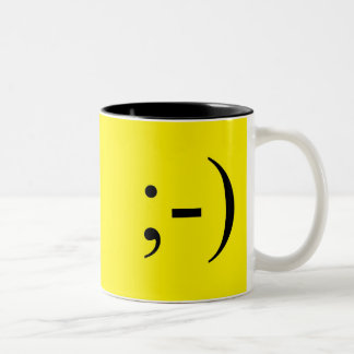 Wink Two-Tone Coffee Mug