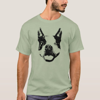 Winking Boston Terrier T-Shirt