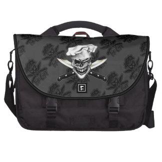 Winking Chef Skull Bag For Laptop