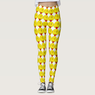 Winking Emoji Leggings
