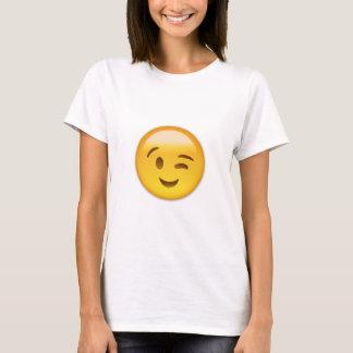 Winking Face Emoij T-Shirt