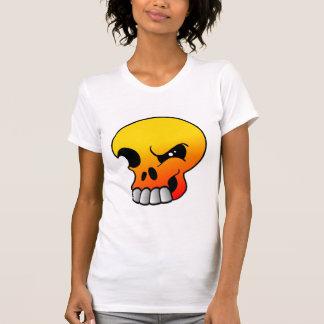 Winking Flame Skull T-Shirt