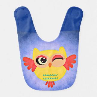 Winking Owl Bib