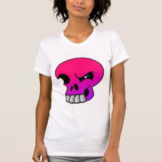 Winking Skull Purple Doom T Shirt